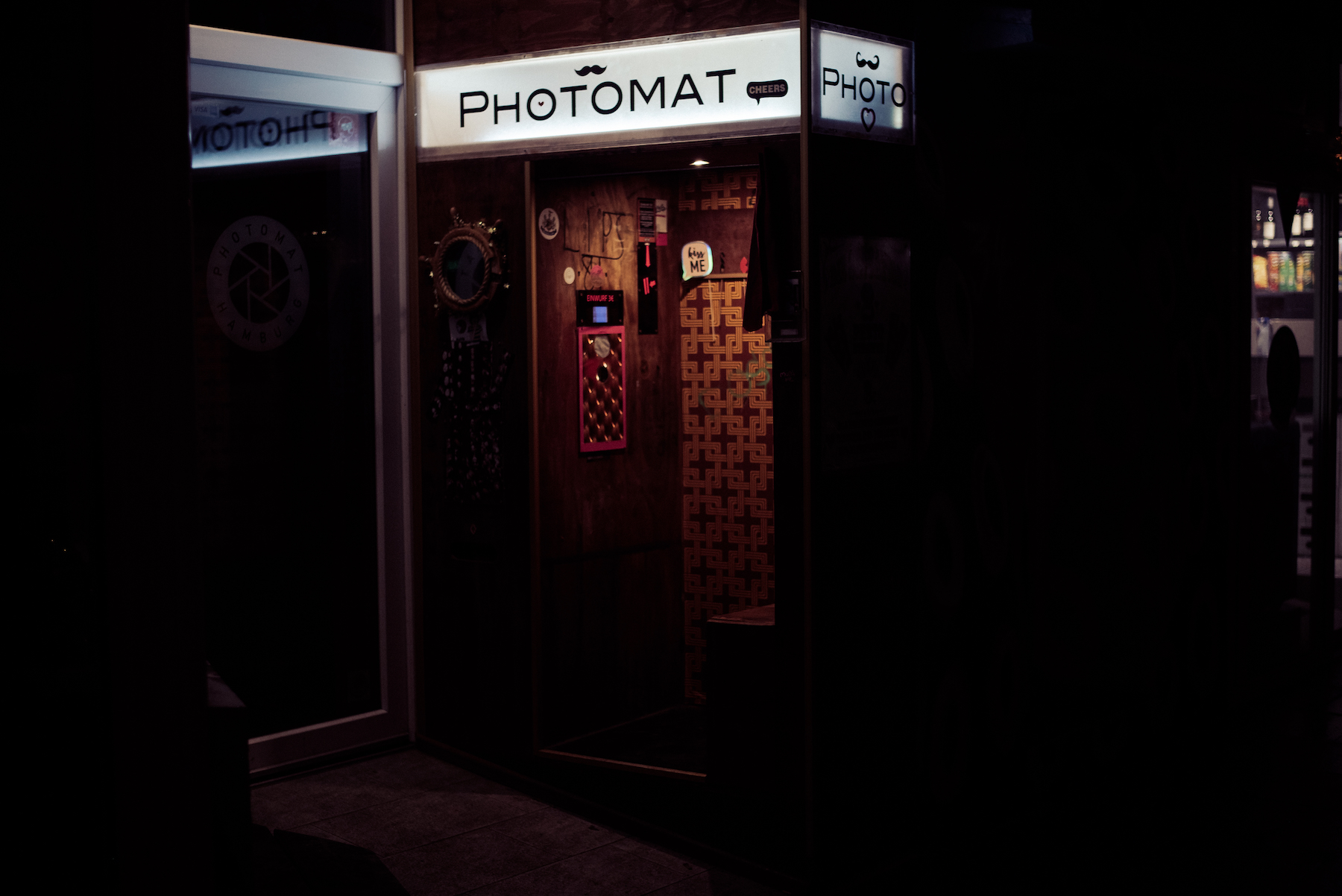 Vintage Photomat in Hamburg, German Travel and Street Photography by Ben Holbrook-3
