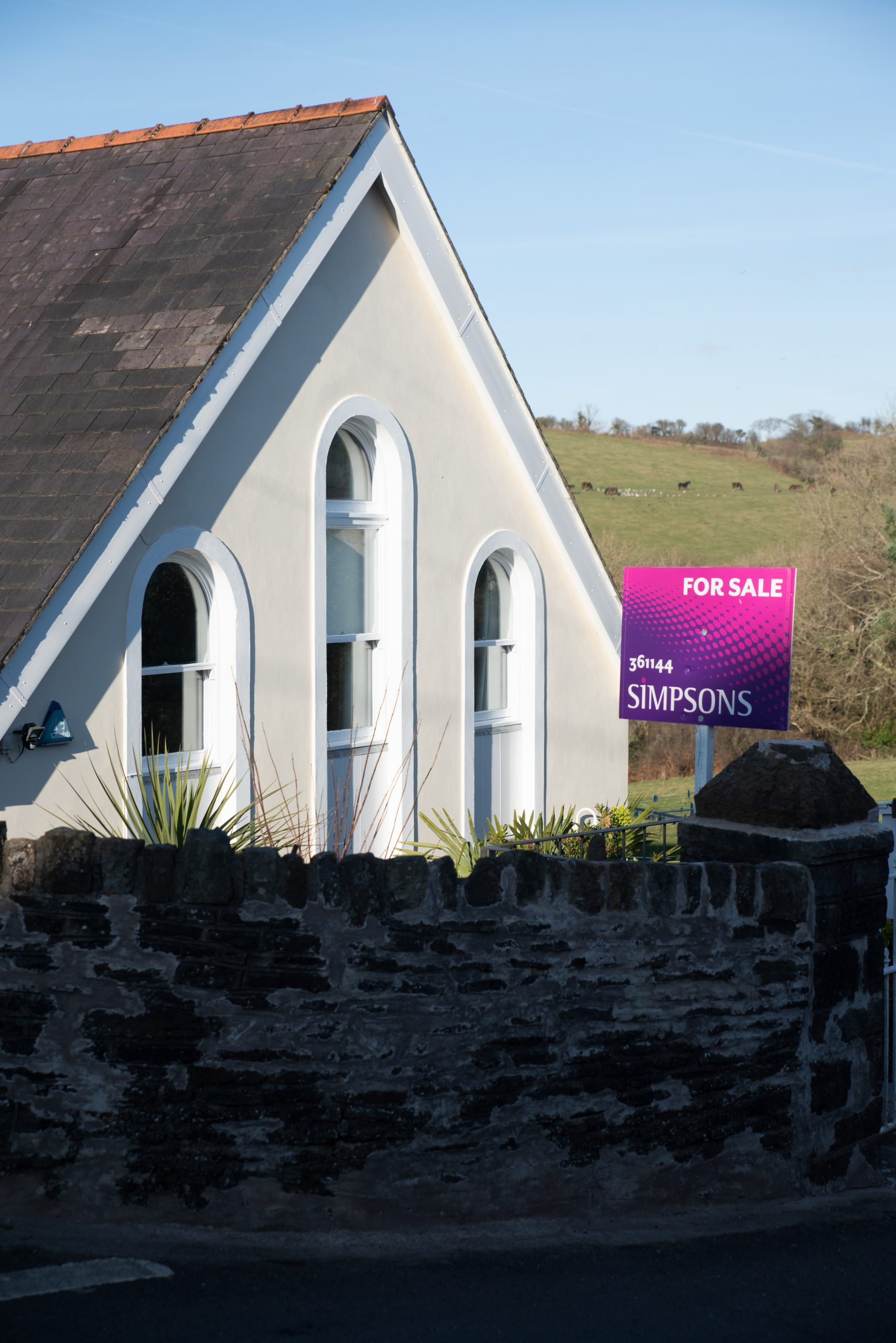 Capel Isaac, Penclawdd, Gower, South Wales, UK