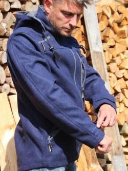 Lodenjacke Waldgeist Outdoor Marineblau