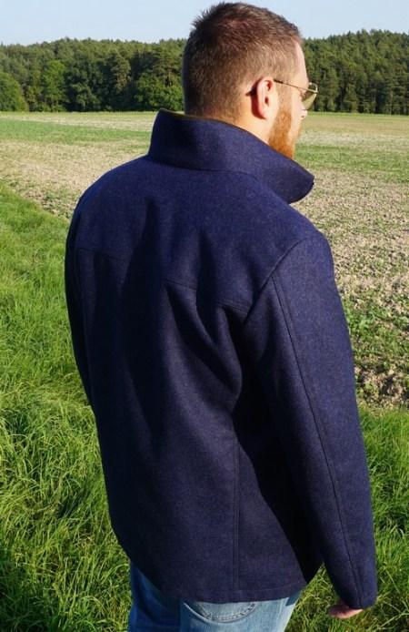 Drilling Jagd- & Oudoorbekleidung Herren Lodenjacke Waldgeist Classic Marineblau