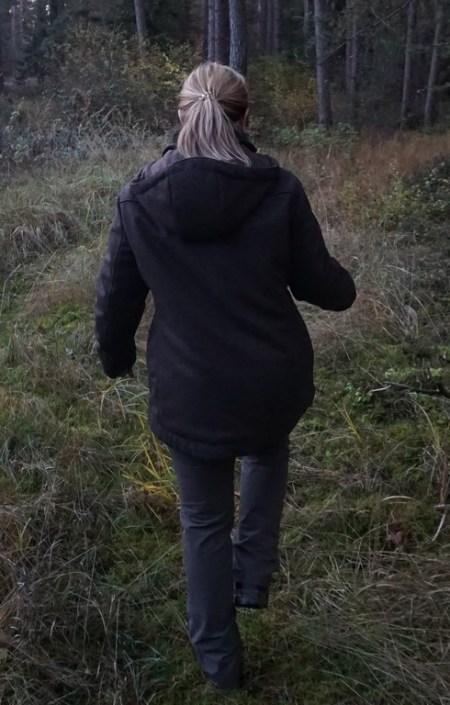 Drilling Jagd- & Outdoorbekleidung Damen Lodenwinterjacke Skadi Jagd schwarzbraun