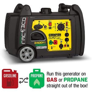 Champion Dual Fuel RV Inverter Generator