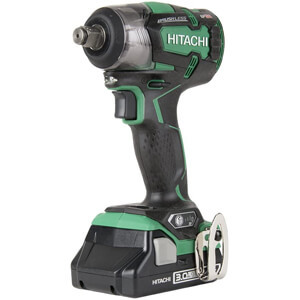 Hitachi WR18DBDL2 18V Cordless Impact Wrench
