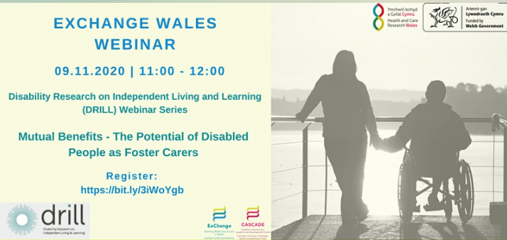 Webinar on the potential of disabled people as foster carers