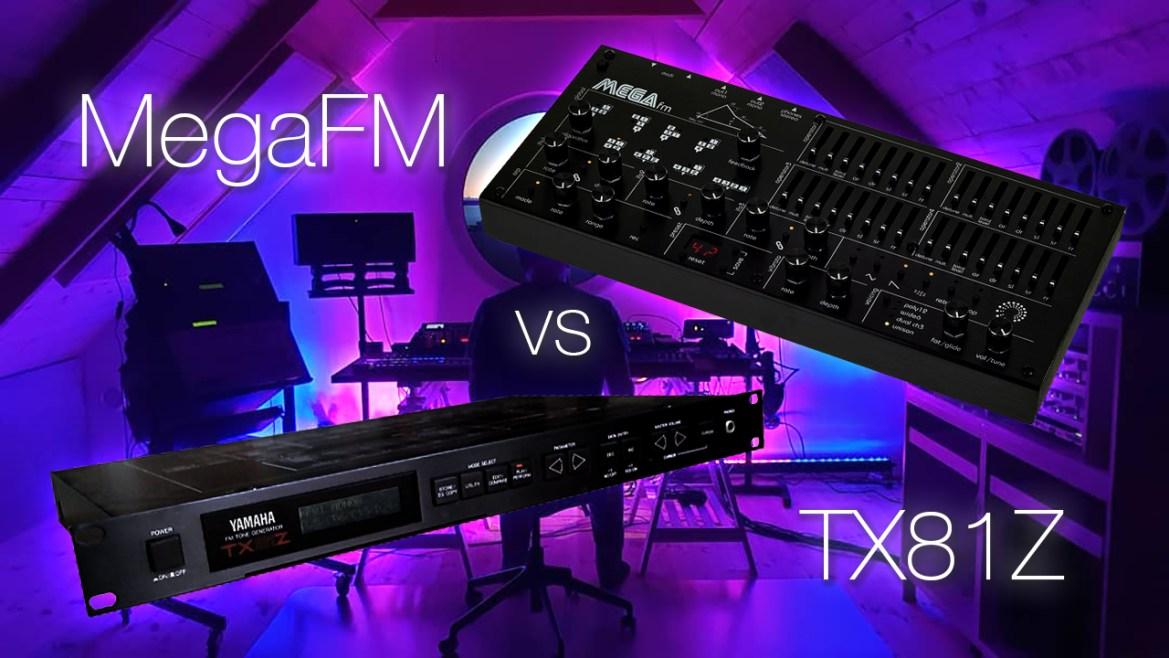 Twisted Electrons MegaFM vs Yamaha TX81Z