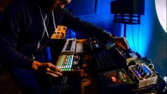 Deep house hardware jam with Deluge, MegaFM, Acid8, Pulse2, Streichfett, Shruthi, Mbase11
