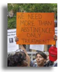 Harm reduction campaigners