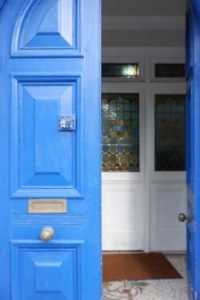 Door of Broadway Lodge