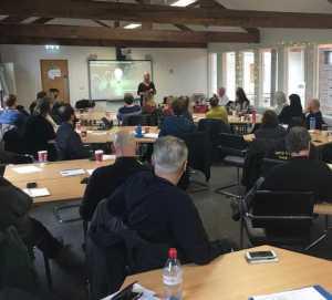 a meeting about naloxone distribution