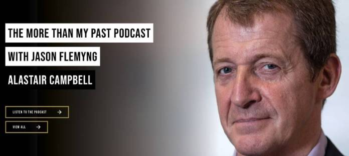 Alistair Campbell podcast