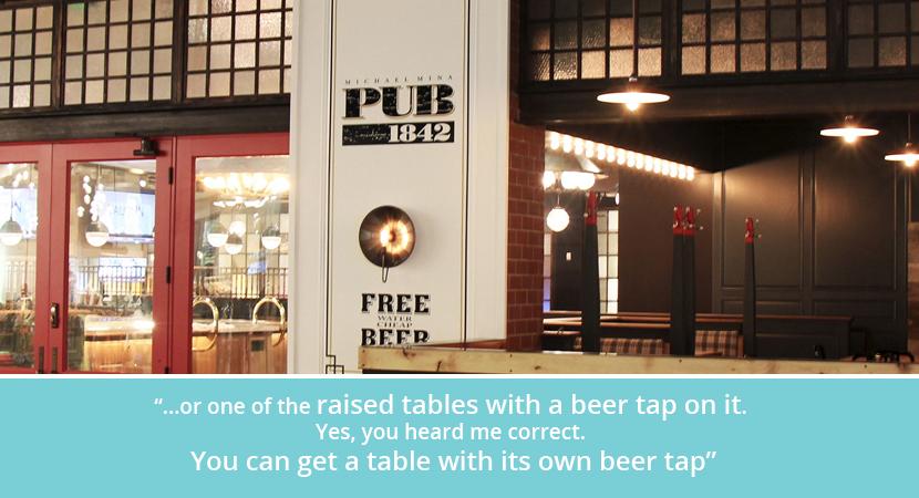 Pub 1842 mgm grand las vegas self-serve reviews