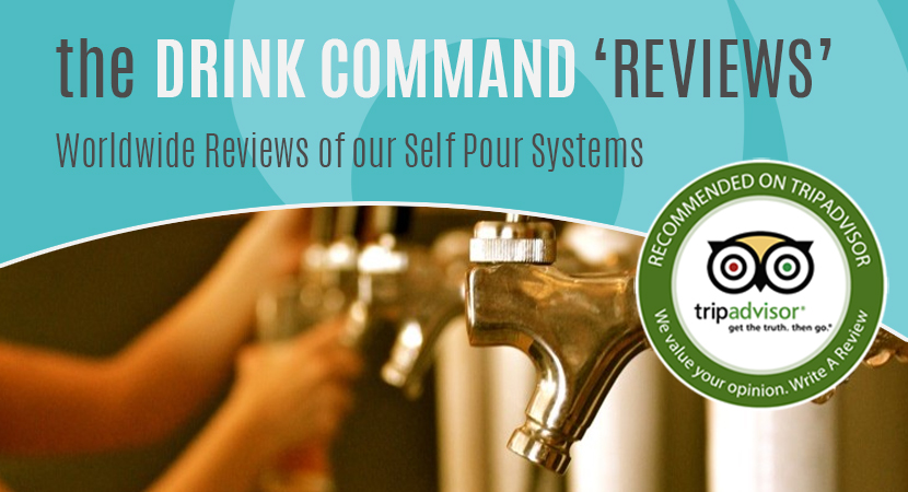 Blog post header self-pour systems reviews on Tripadvisor