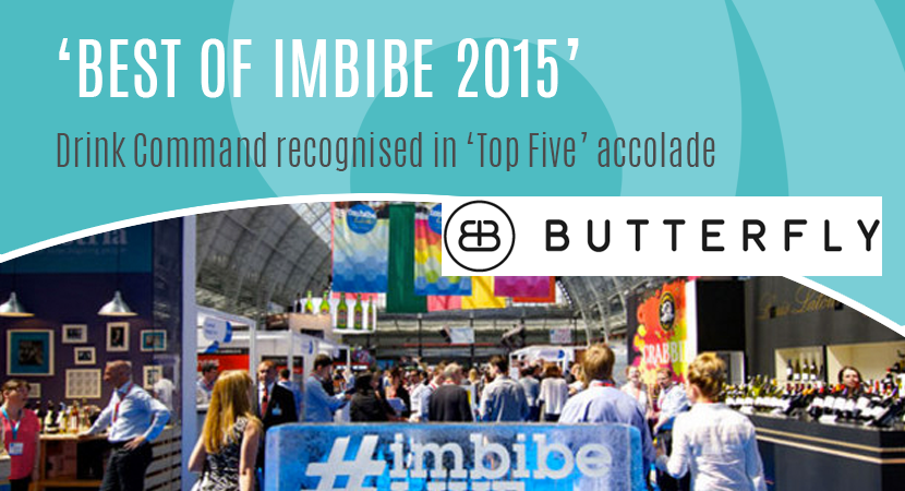 Blog Post Header Drink Command recognised in Top Five accolade at imbibe 2015