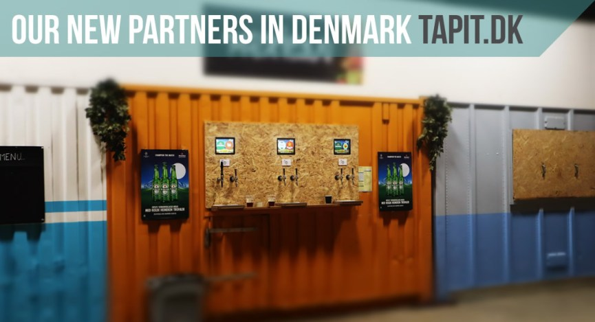 Our new partners in Denmark – TAPIT.DK