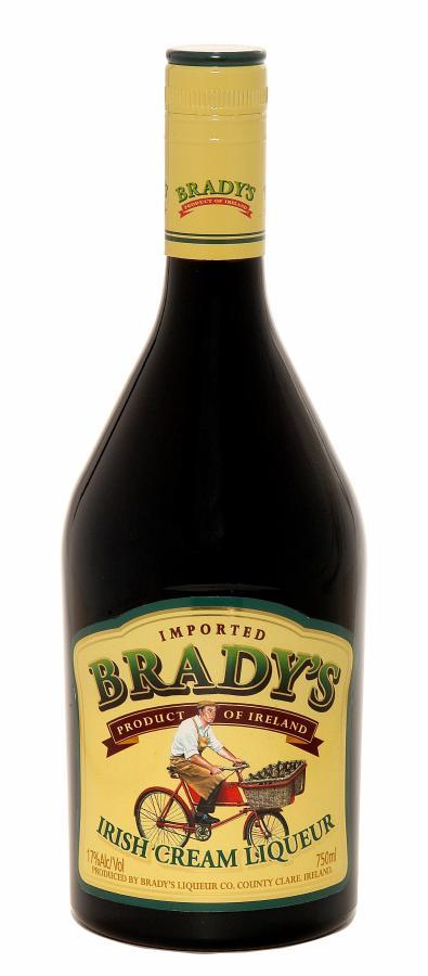 bradys irish cream liqueur