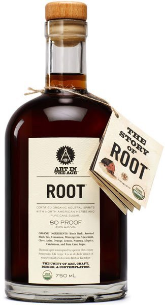 """""""Art in the Age"""" Root Liqueur"""