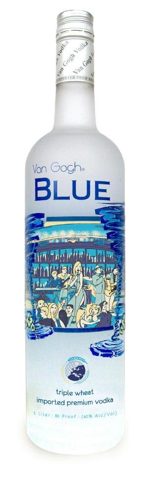 Van Gogh Blue Triple Wheat Vodka