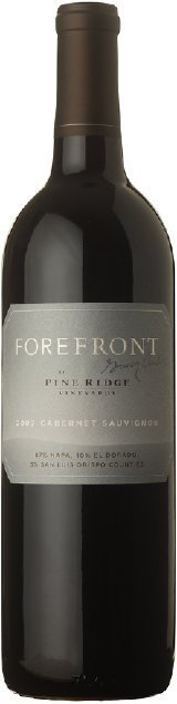 forefront cabernet sauvignon 2007