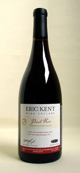 2008 Eric Kent Pinot Noir Russian River Valley