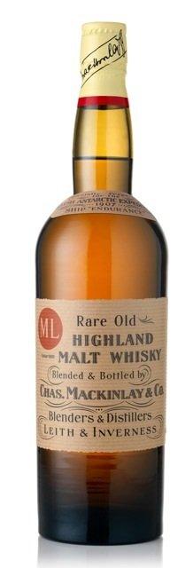 "MacKinlay's Rare Old Highland Malt Whisky ""Shackleton"""
