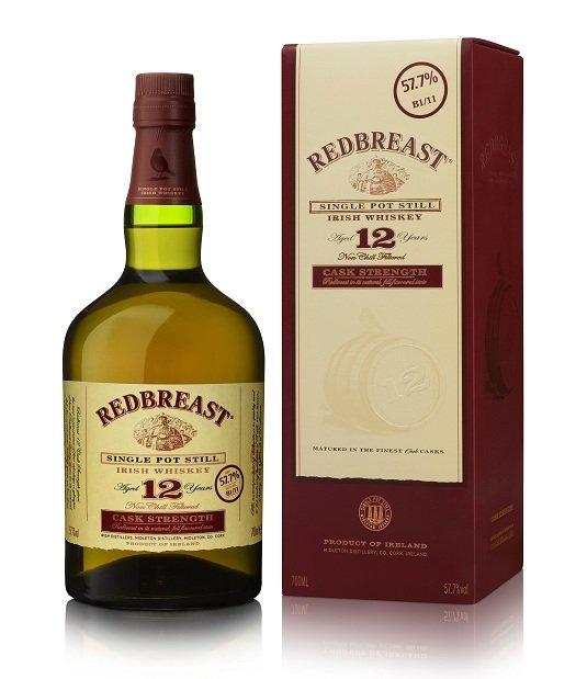 Redbreast Single Pot Still Irish Whiskey 12 Years Old Cask Strength