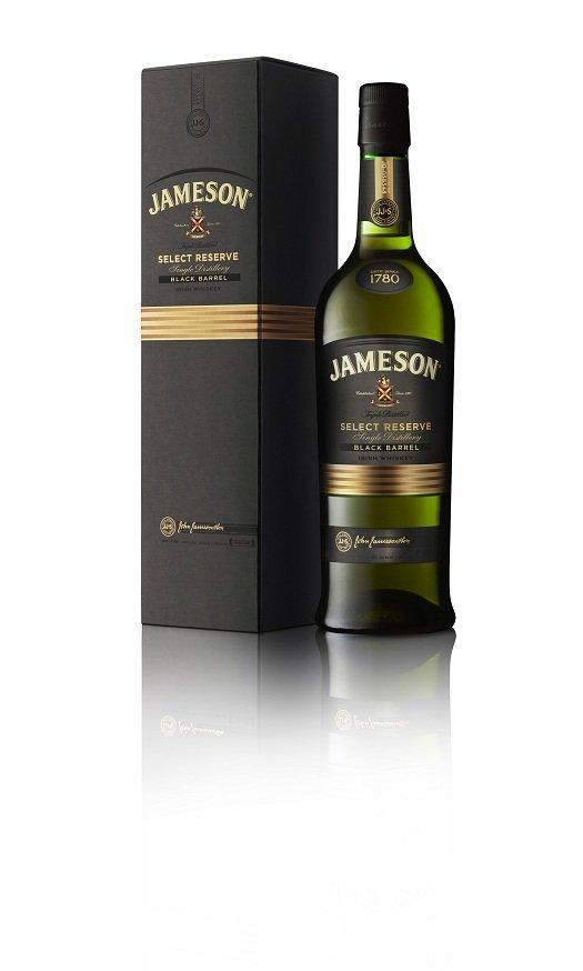 jameson black barrel with box