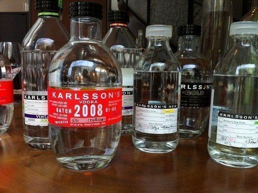 karlsson's gold 2008 single vintage vodka