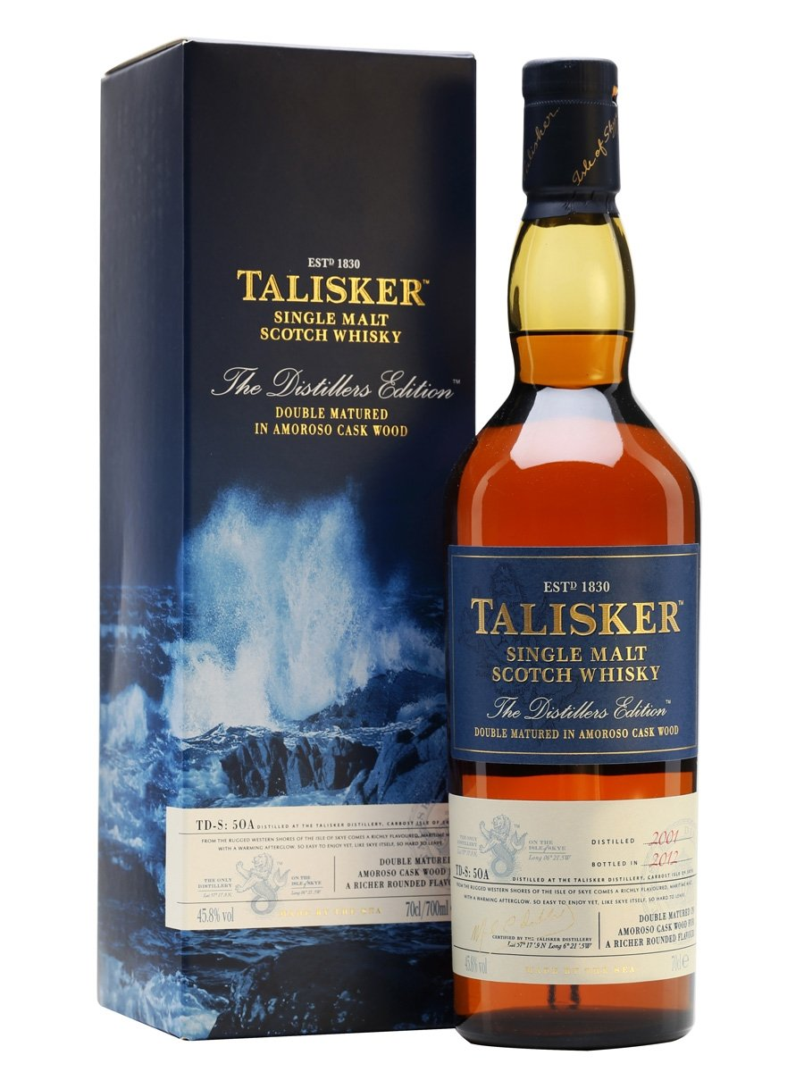 Talisker Distillers Edition 2011 - Distilled 2001