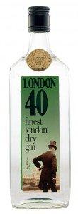 London 40 dry gin