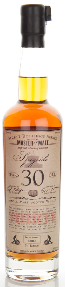 ster of Malt Speyside 30 Years Old (5th Edition)