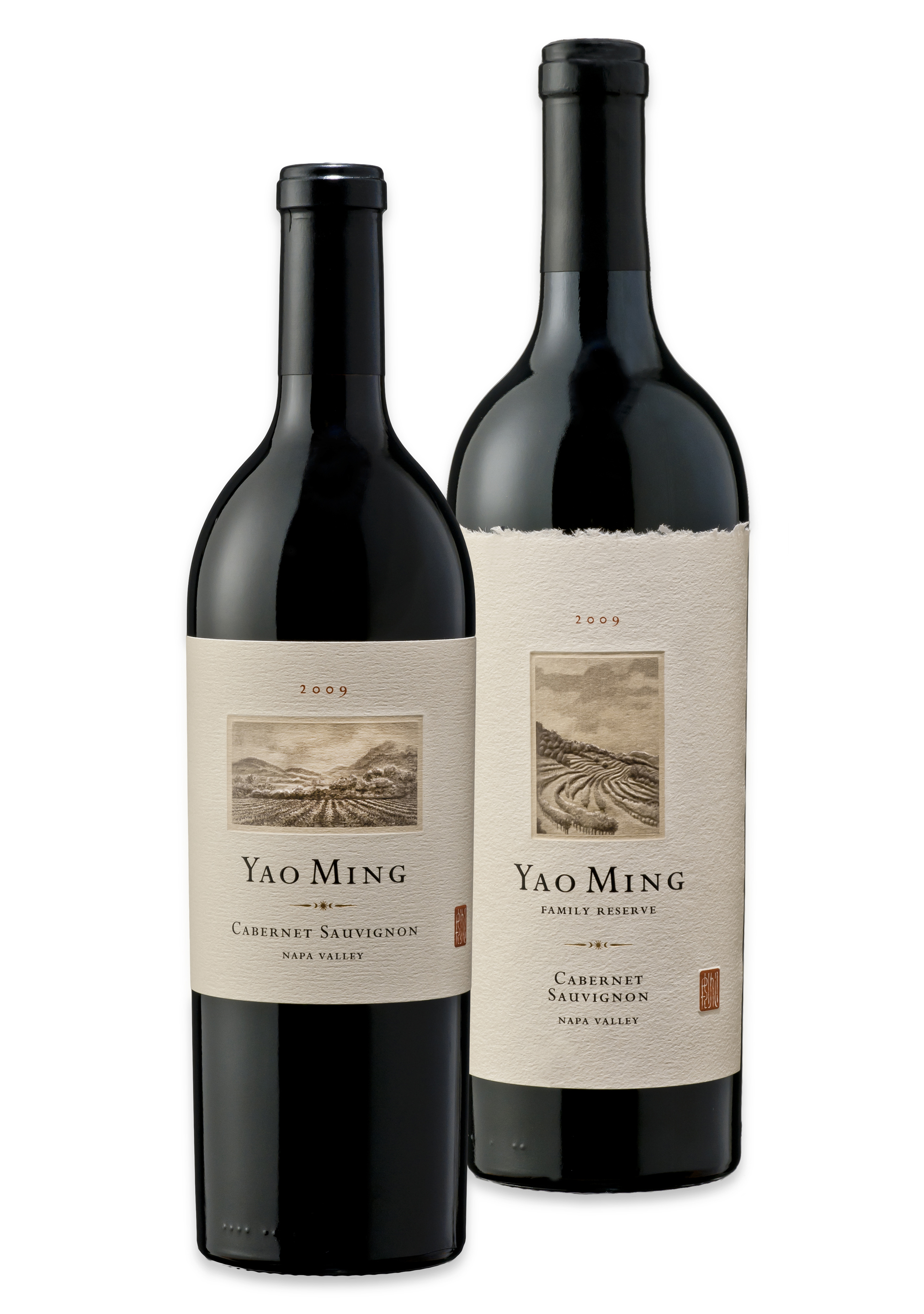 Review: Yao Ming Family Wines, 2009 Vintages - Drinkhacker