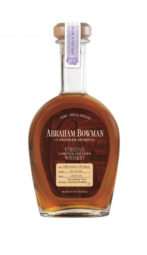 Abraham Bowman digitized Gingerbread Beer Finished Bourbon