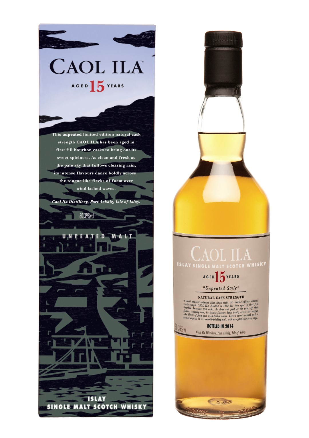 Caol Ila Unpeated 15 Years Old Limited Edition 2014