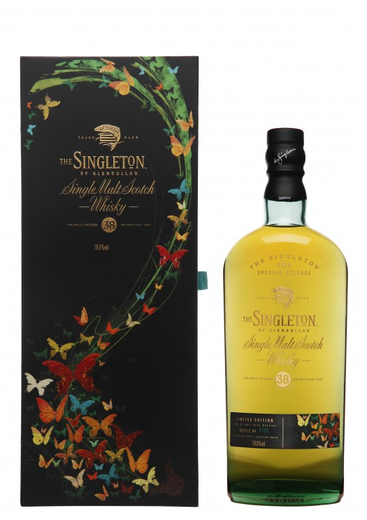 Singleton of Glendullan 38YO Bottle & Box