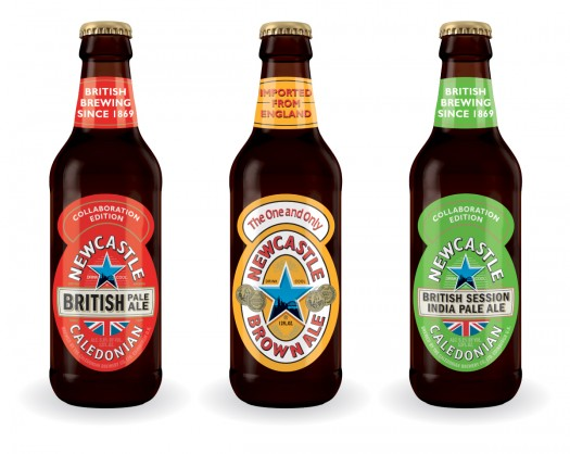 Newcastle Best of Britain Variety Pack bottles