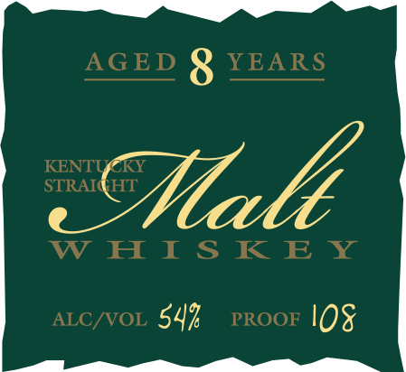 Parker's Heritage Collection Kentucky Straight Malt Whiskey 8 Years Old (2015)
