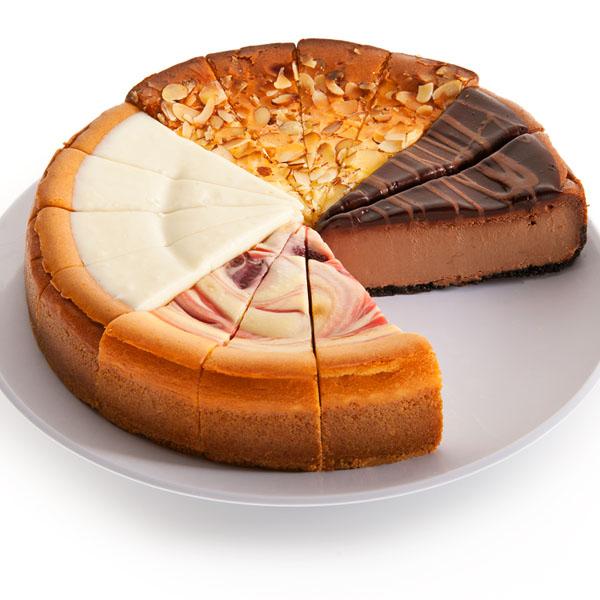 "GourmetGiftBaskets ""Happy Hour"" Cheesecake Sampler"