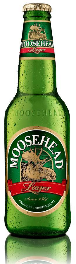 Moosehead bottle