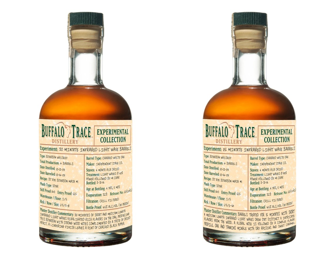 Buffalo Trace Experimental Collection – Infrared Light Wave Experiment 15 Minutes