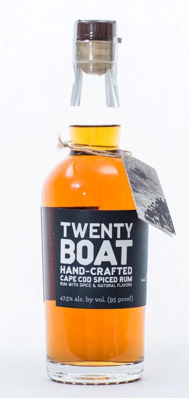 South Hollow Spirits Twenty Boat Cape Cod Spiced Rum