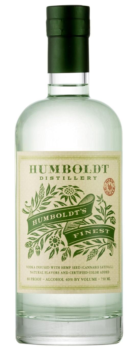 Humboldt Distillery Humboldt's Finest Hemp Vodka