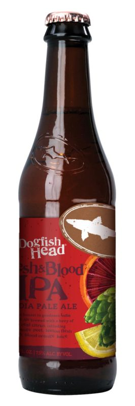 dogfish flesh and blood ipa
