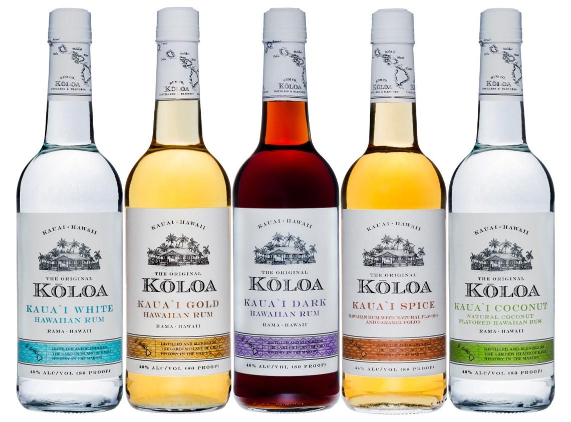 Koloa Kauai Coconut Hawaiian Rum