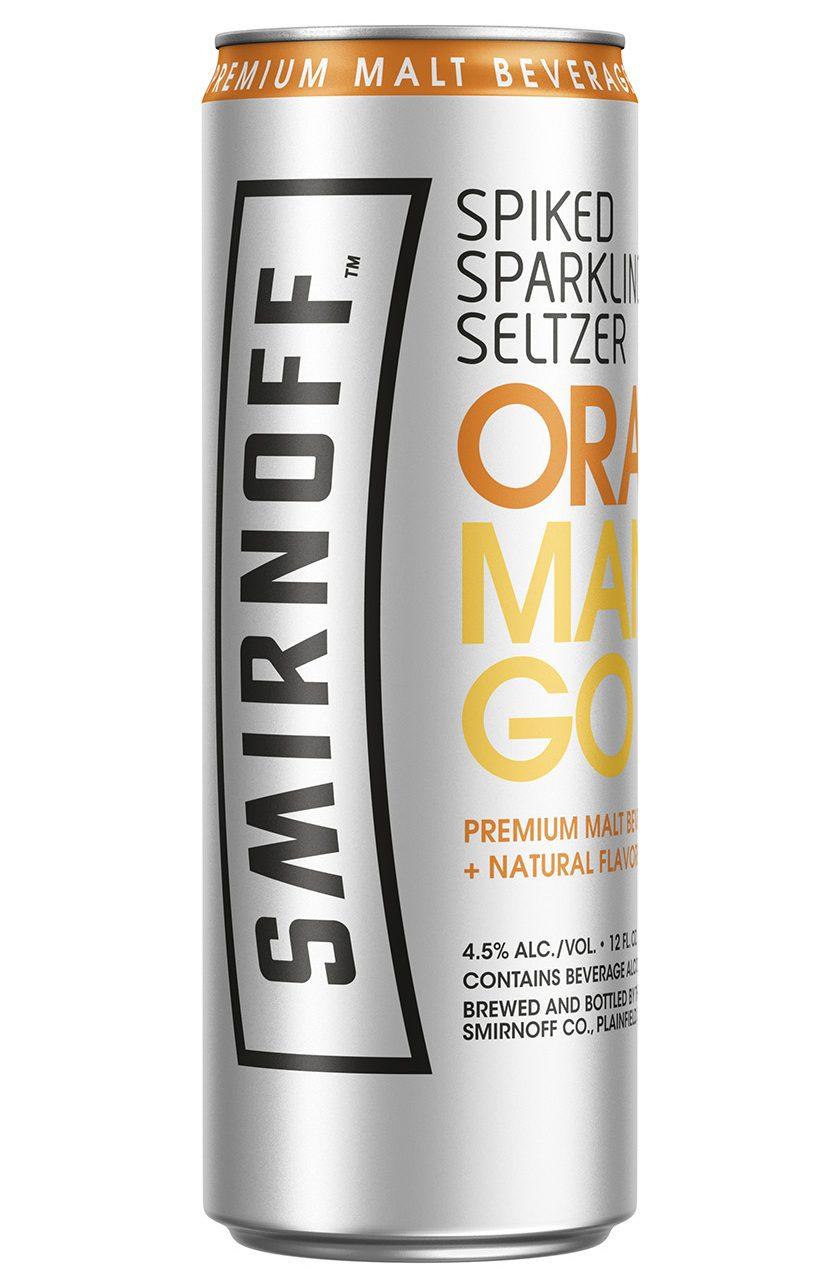 Smirnoff Spiked Sparkling Seltzer Orange Mango