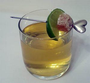 Green Tea Saké Mosc-jito