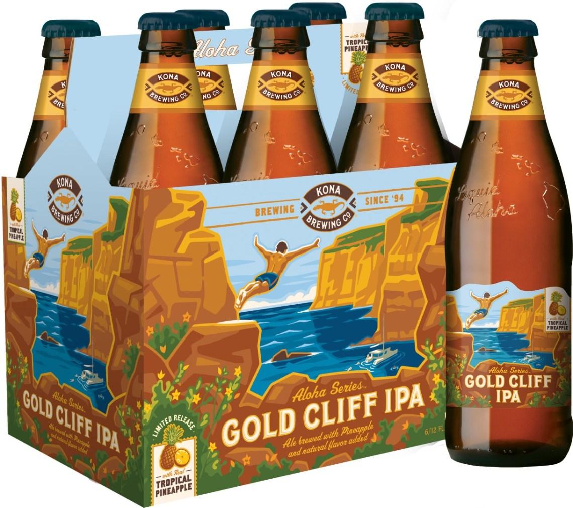 Kona Brewing Co. Gold Cliff IPA
