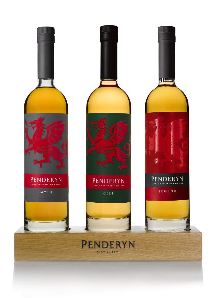 Penderyn Single Malt Welsh WhiskyDragon Series Celt
