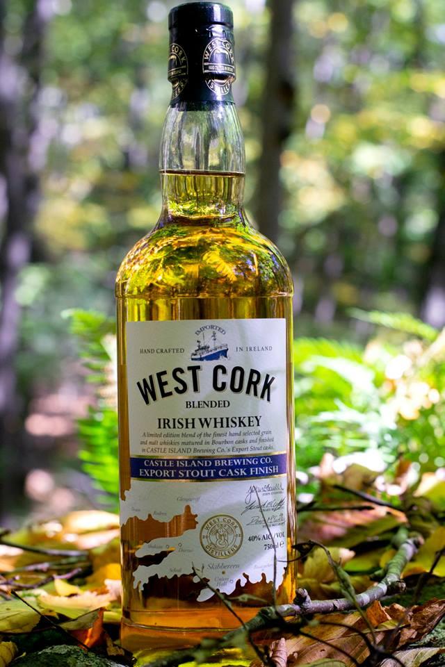 West Cork Blended Irish Whiskey Export Stout Cask Finished
