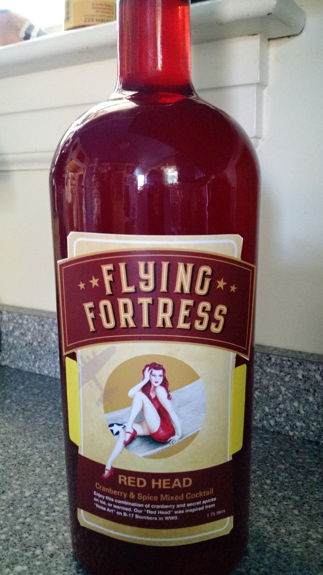 Flying Fortress Red Head Cocktail