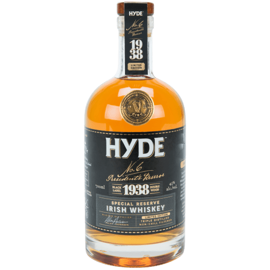 Hyde No. 6 Presidential Cask 1938 Special Reserve Irish Whiskey